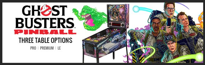 Ghostbusters Stern Pinball