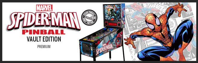 Spider-Man VE Stern Pinball