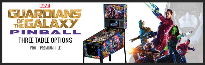Guardians of the Galaxy GotG - Stern Pinball